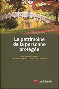 Couverture du livre le patrimoine de la personne protégée