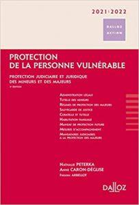 Couverture du livre protection de la personne vulnerable